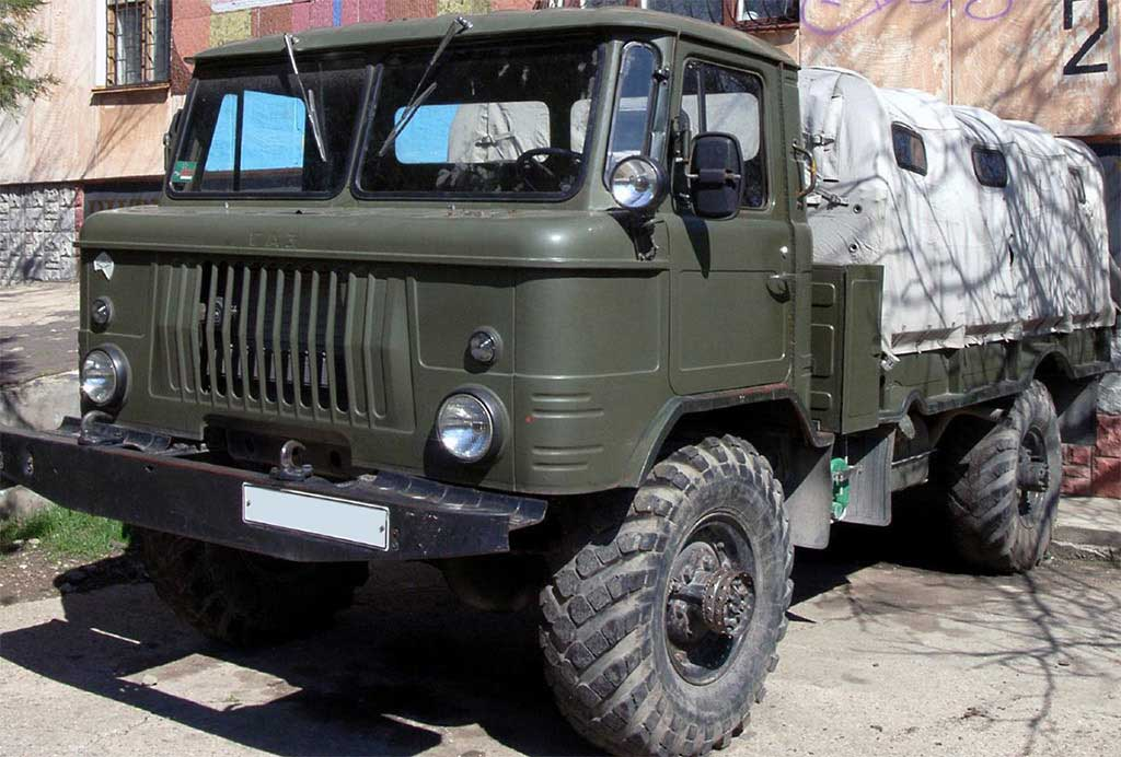 Тюнингуем ГАЗ 66