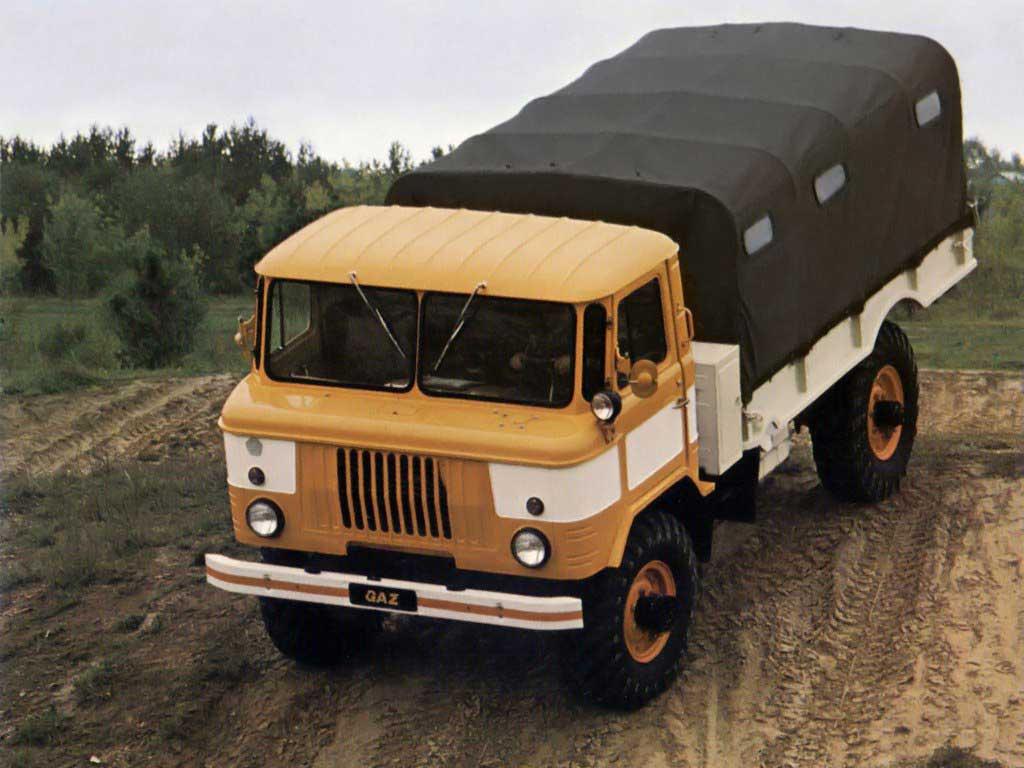 ГАЗ тюнинг  66