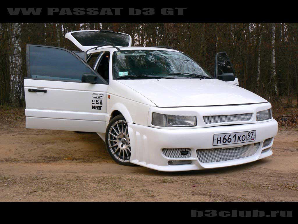 Тюнинг Volkswagen Passat B3