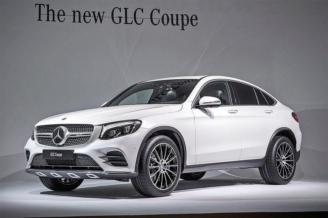 Мерседес-Бенц GLC купе — мощный кроссовер небольших размеров