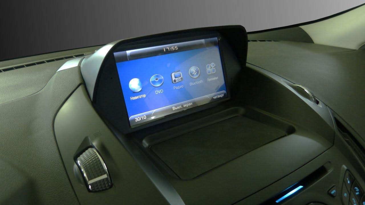 Особенности использования платформы android в магнитоле автомобиля Форд Куга
