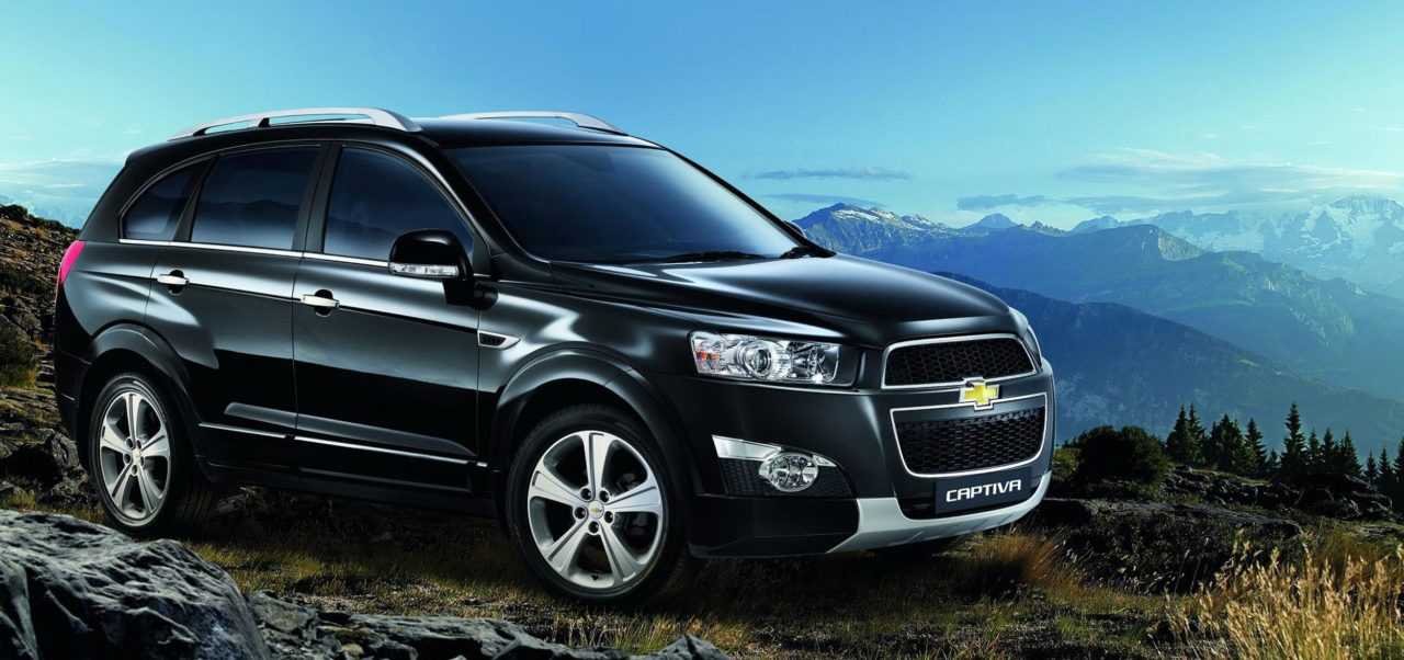 Chevrolet Captiva как универсальный семейный внедорожник