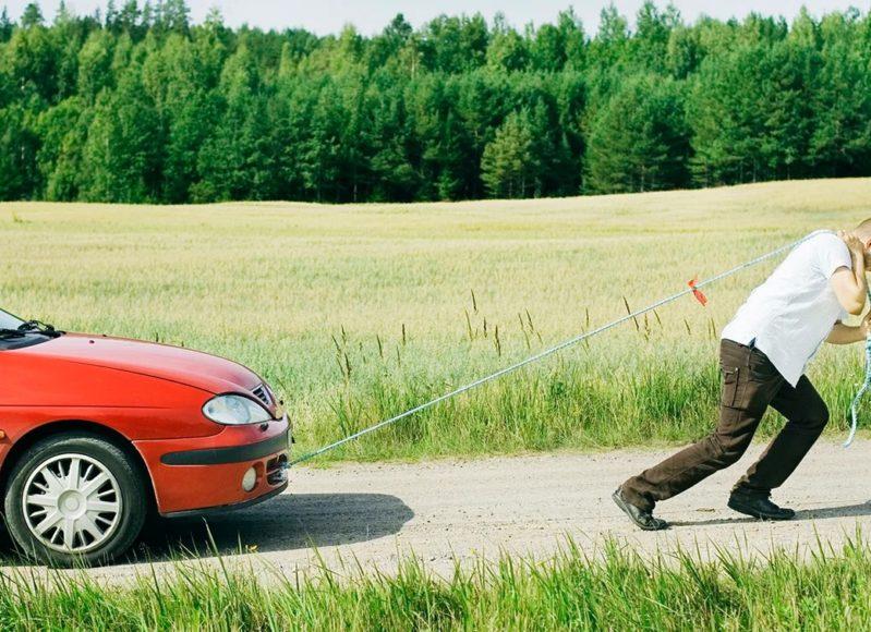 Правила буксировки автомобиля